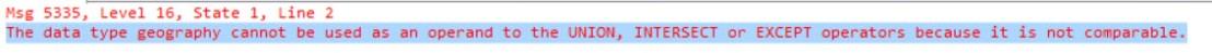 geography union error
