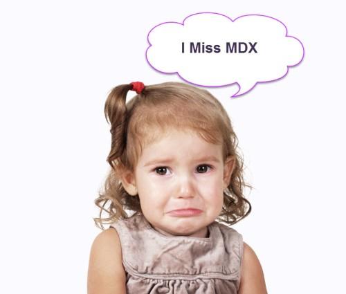 I miss MDX